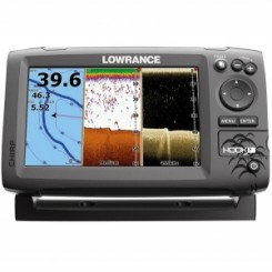 Lowrance hook 7 chirp 83/200 ,455/800 hz