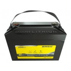 SUNBEAM SMART LITHIUM Batteri Basic 100Ah - 2 stk.